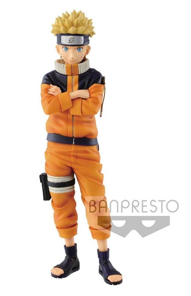 NARUTO - Figurine Grandista - Uzumaki Naruto 02 - 23cm