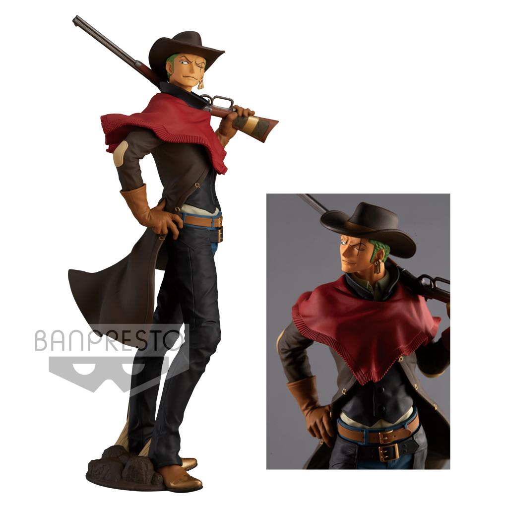 ONE PIECE - Figurine Treasure Cruise - Roronoa Zoro - 22cm