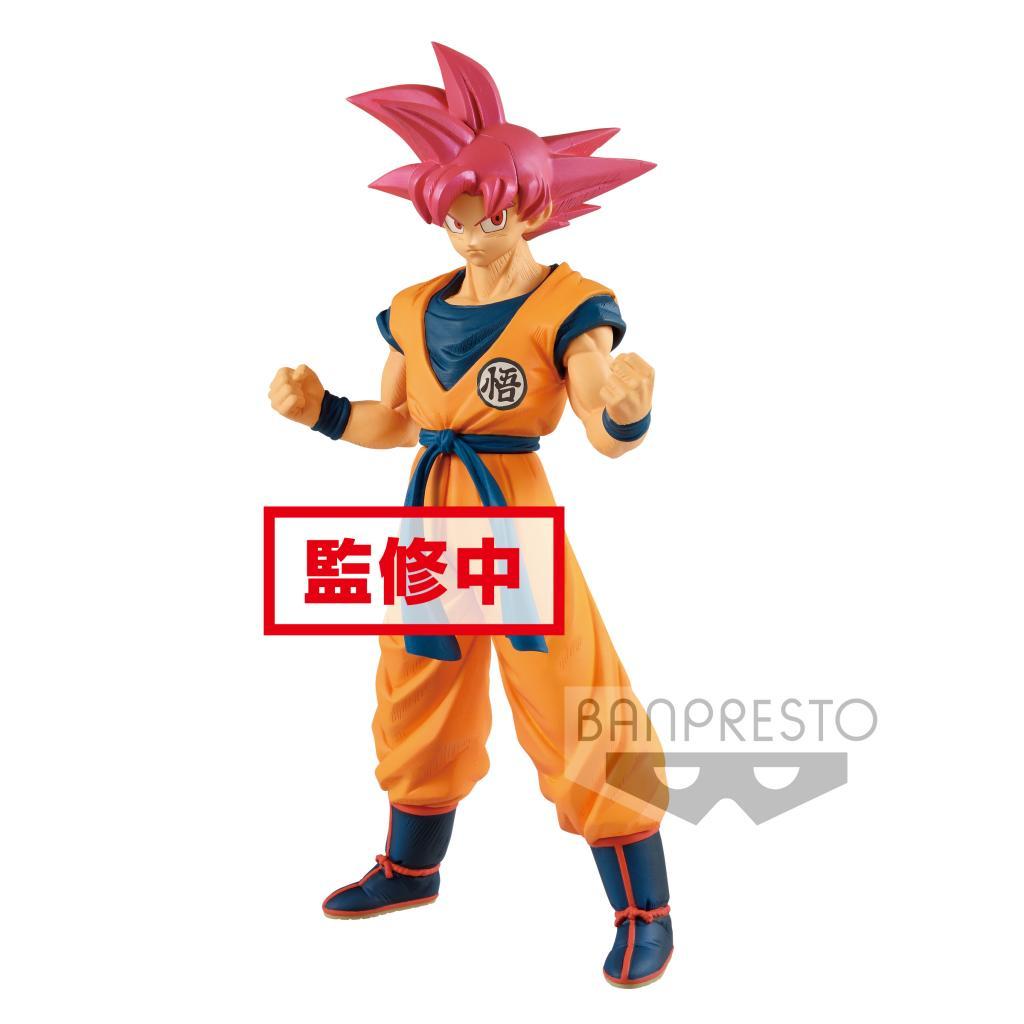 DRAGON BALL SUPER MOVIE - Cyokoku Buyuden/SSG Son Gokou - 22cm