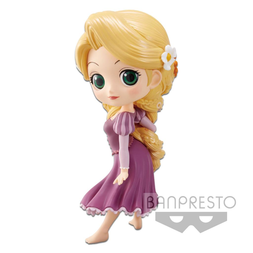 DISNEY - Q Posket Rapunzel Normal Color Version - 14cm
