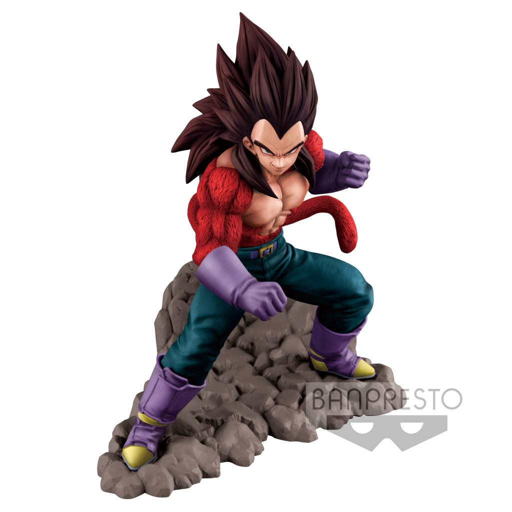 DRAGON BALL GT - SS4 Vegeta On the Rock - 16cm