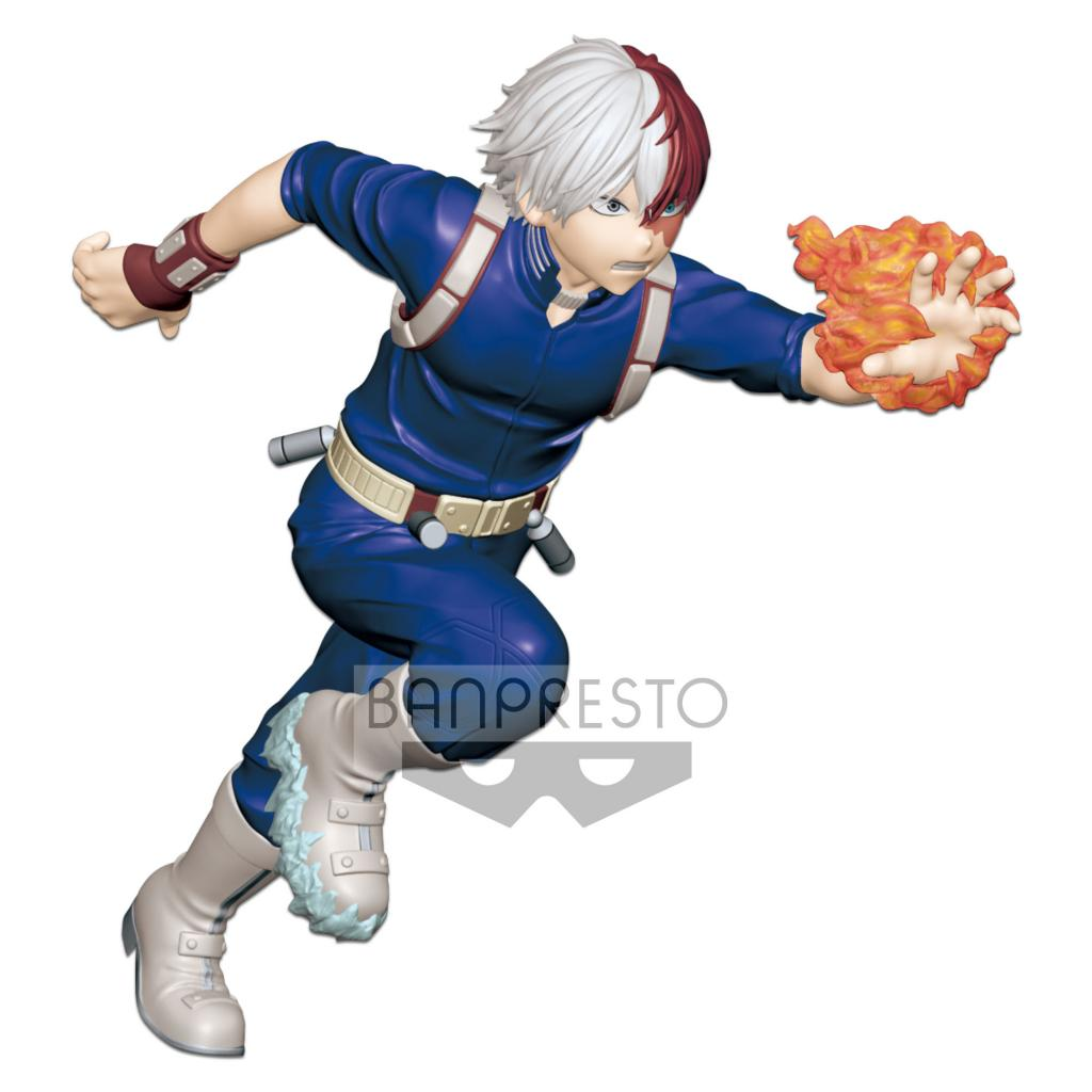 MY HERO ACADEMIA ENTER THE HERO - Figurine Soto Todoroki - 15cm