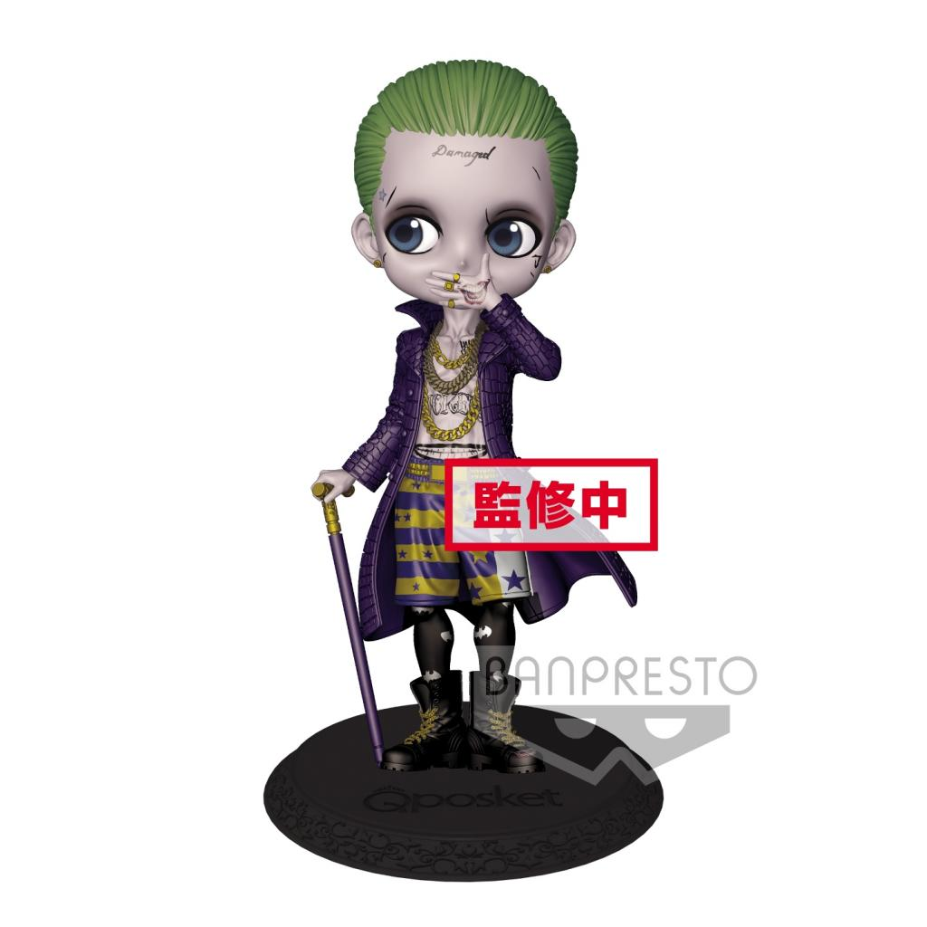 DC COMICS - Q Posket Joker Normal Color Version - 14cm