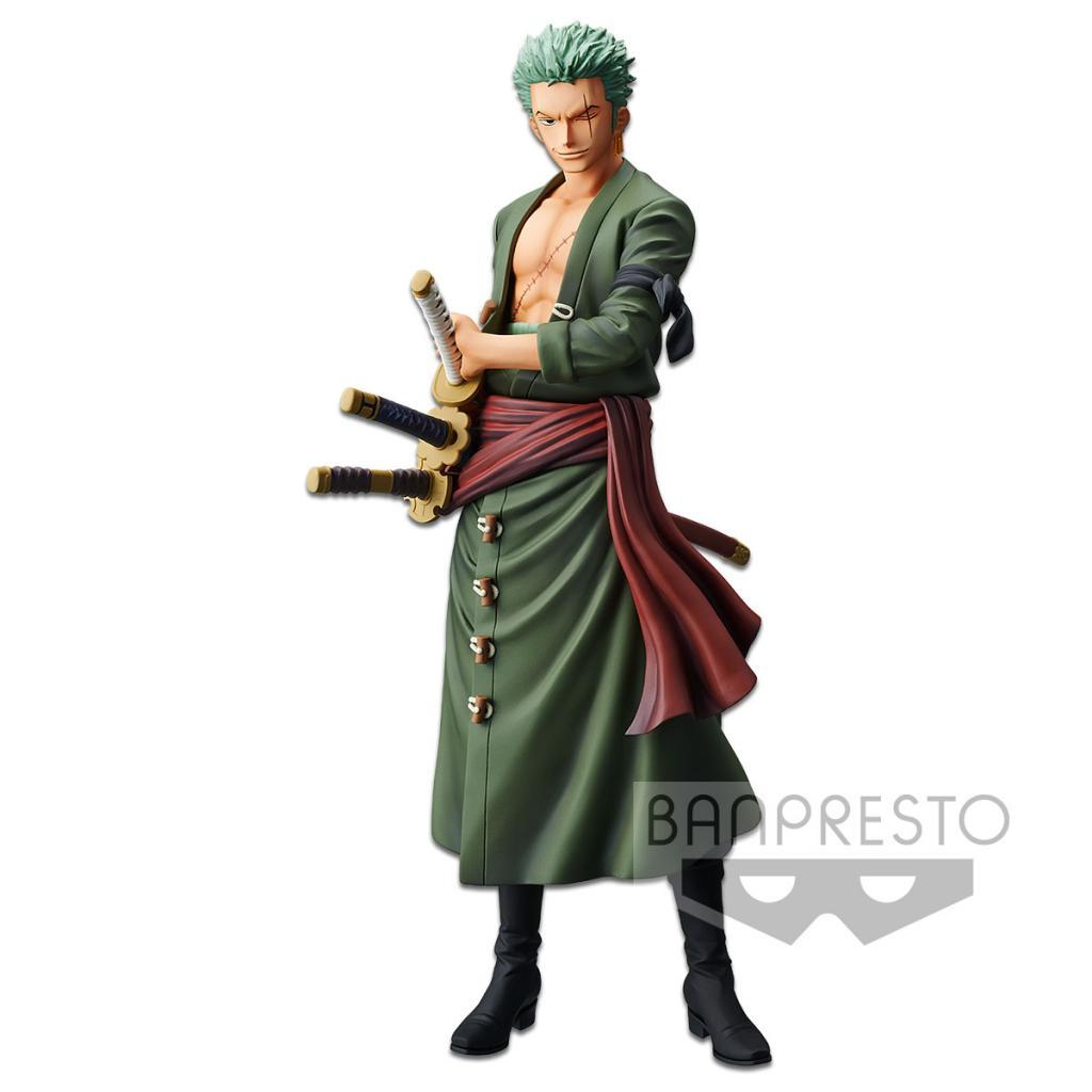 ONE PIECE - Figurine Grandista - Roronoa Zoro - 28cm