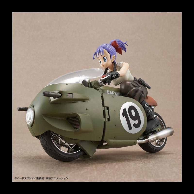 DRAGON BALL - Model Kit - Bulma's Variable No. 19 Motorcycle_2