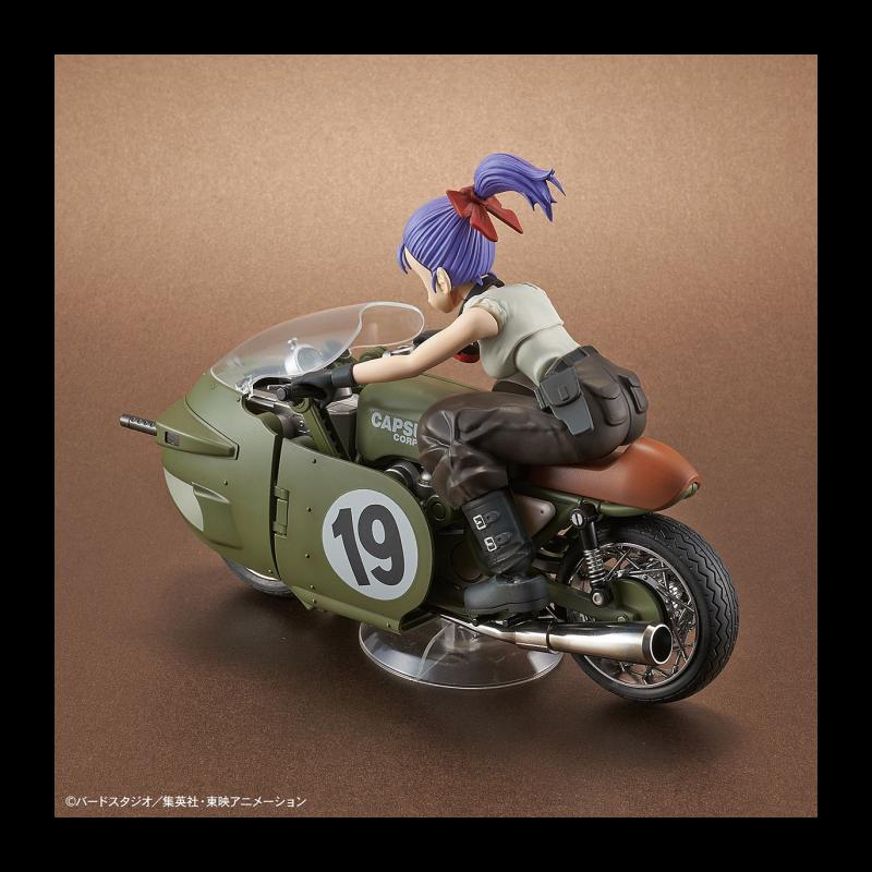 DRAGON BALL - Model Kit - Bulma's Variable No. 19 Motorcycle_3