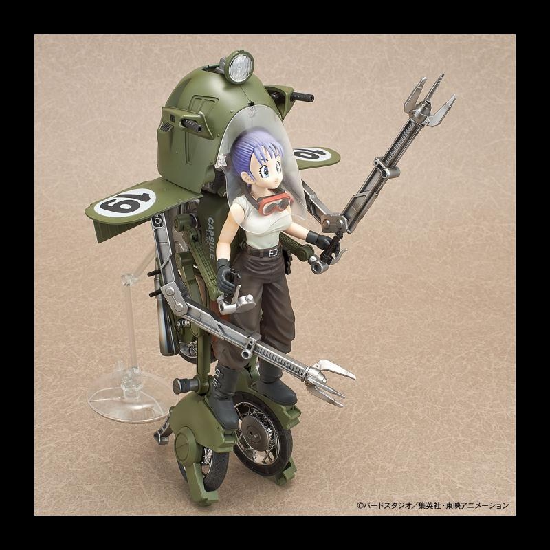 DRAGON BALL - Model Kit - Bulma's Variable No. 19 Motorcycle_4