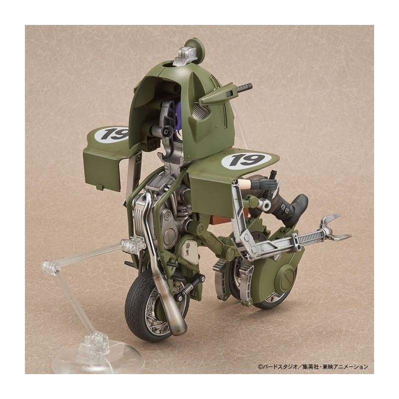 DRAGON BALL - Model Kit - Bulma's Variable No. 19 Motorcycle_6
