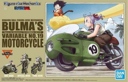 DRAGON BALL - Model Kit - Bulma's Variable No. 19 Motorcycle