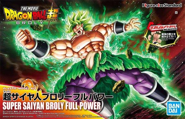 DRAGON BALL - Model Kit - Super Saiyan Broly Full Power_1