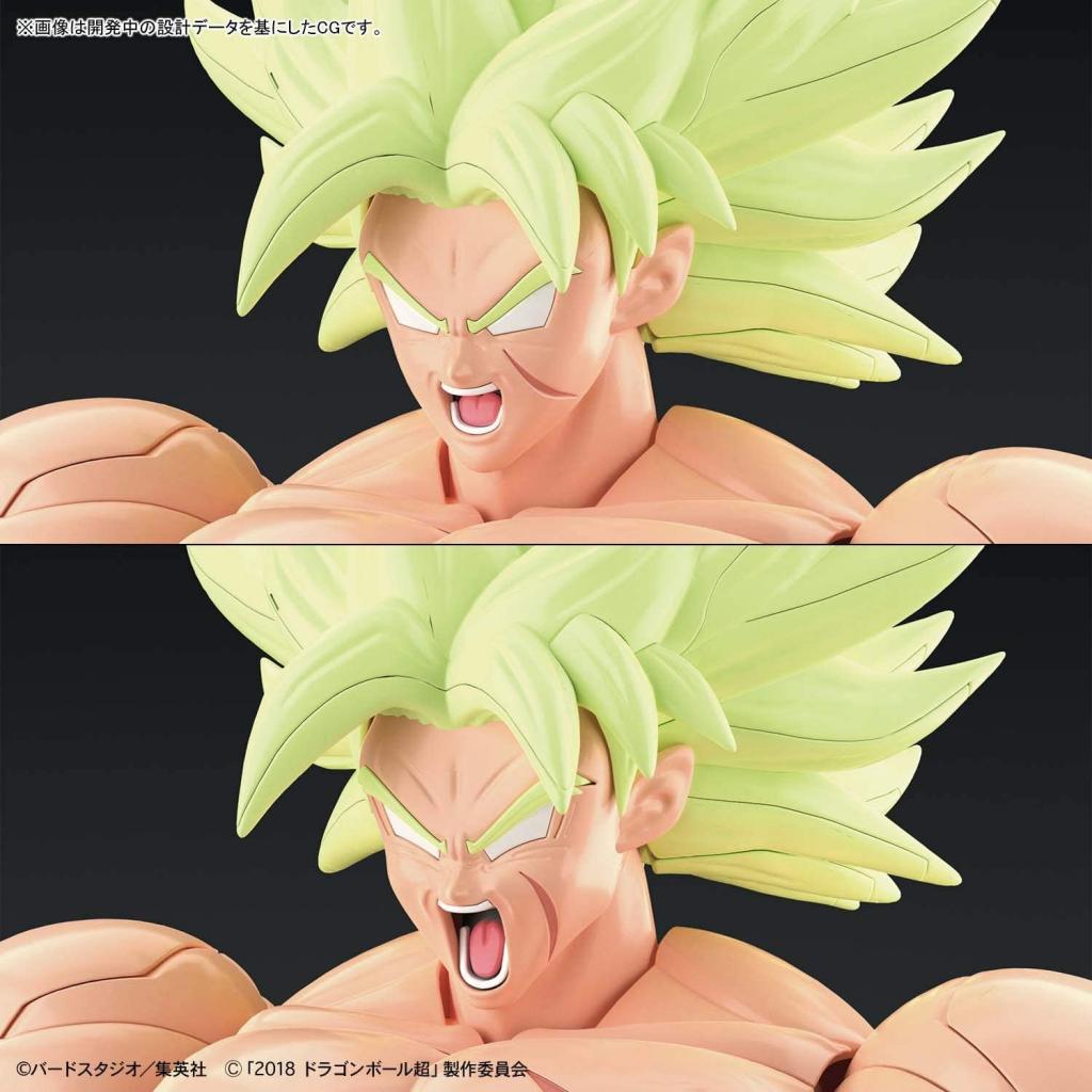 DRAGON BALL - Model Kit - Super Saiyan Broly Full Power_5