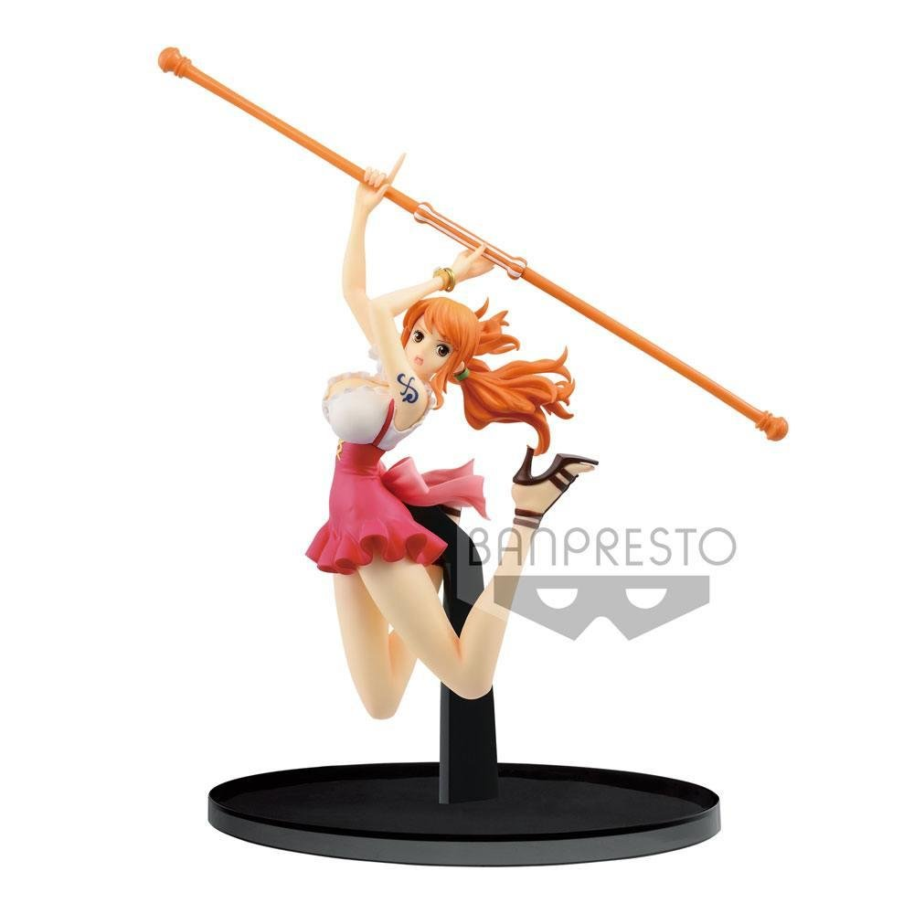 ONE PIECE - Figurine BWFC Colosseum 2 - Vol 3 - Nami - 13cm