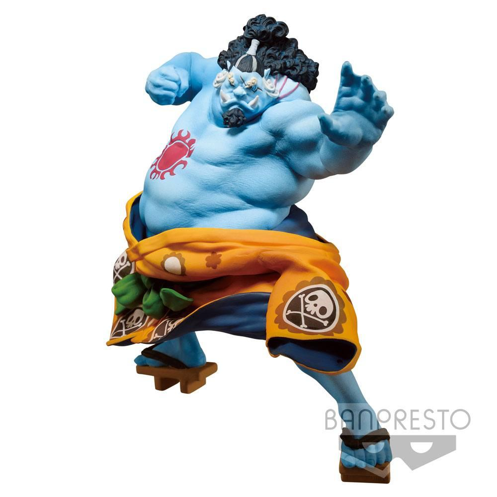 ONE PIECE - Figurine BWFC Colosseum 2 - Vol 4 - Jinbe - 14cm