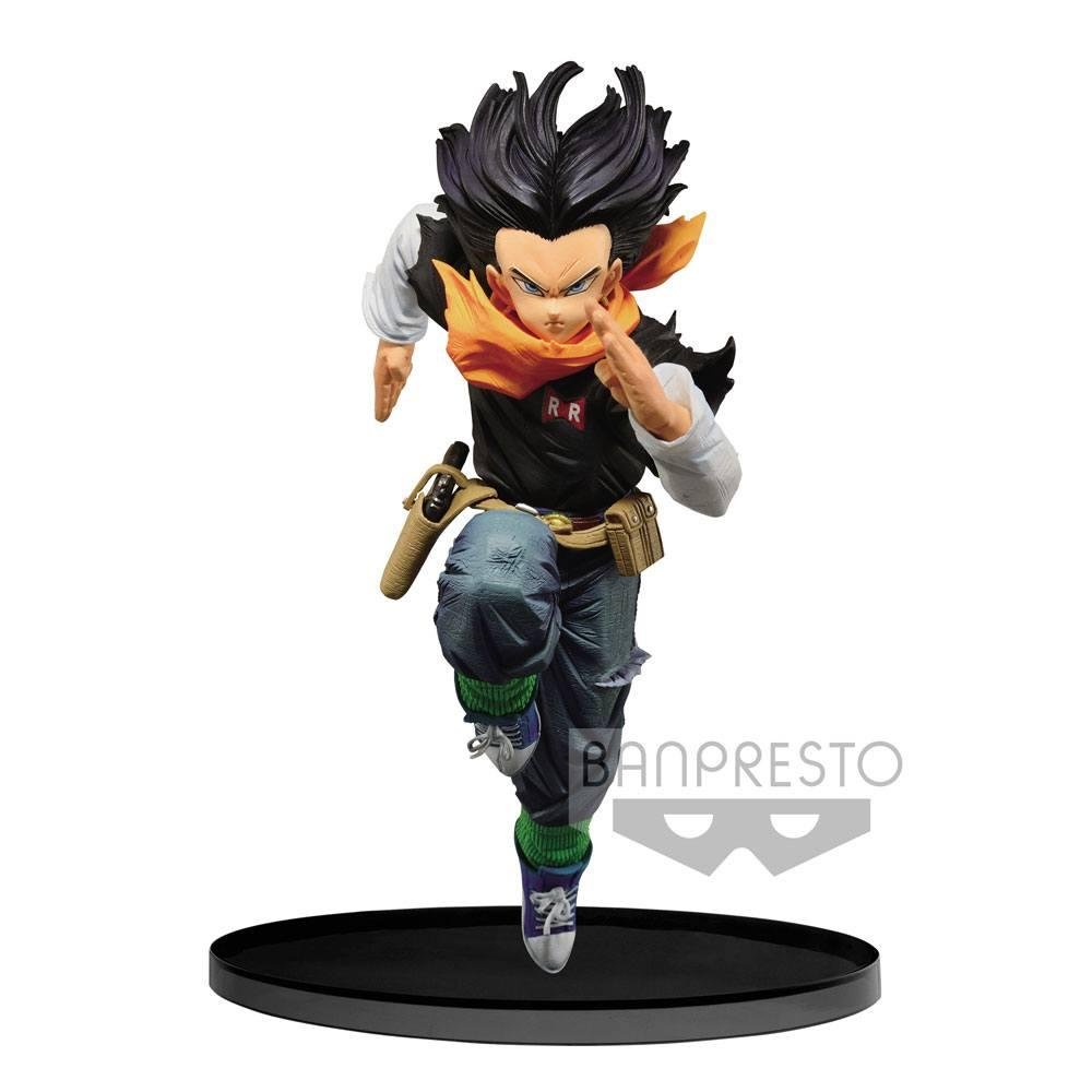 DRAGON BALL - Figurine BWFC Colosseum 2 - Vol 3 - Android 17 - 17cm
