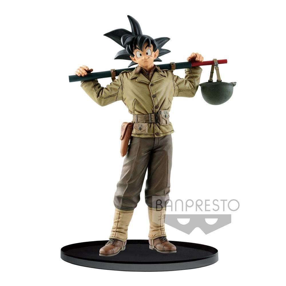 DRAGON BALL - Figurine BWFC Colosseum 2 - Vol 4 - Son Goku - 18cm