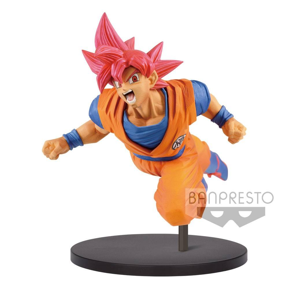 DRAGON BALL SUPER - Figurine Son Goku Fes Vol 9 - Super Saian GOD
