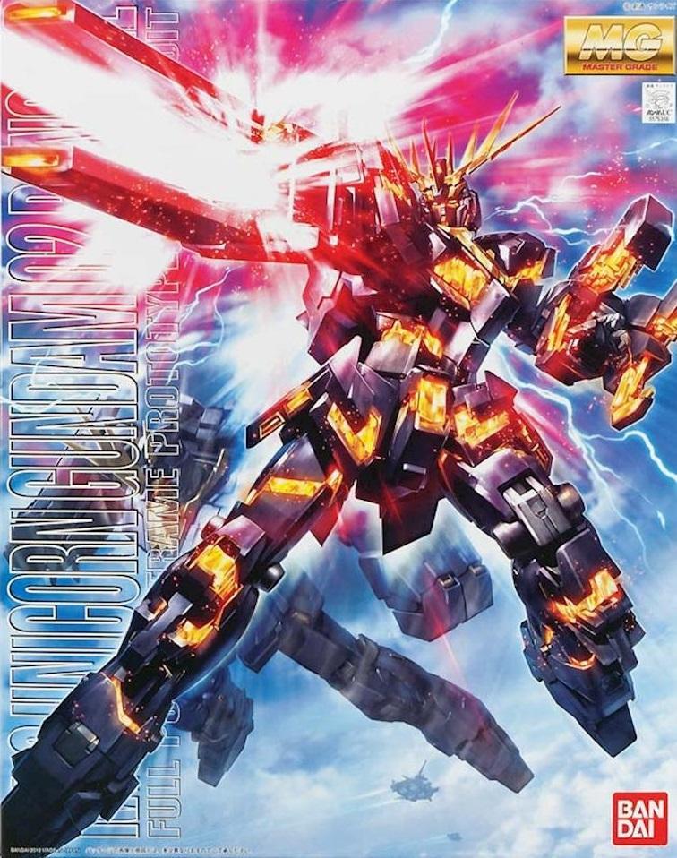 GUNDAM - Model Kit - MG 1/100 - Unicorn Gundam 2 Banshee - 18 CM
