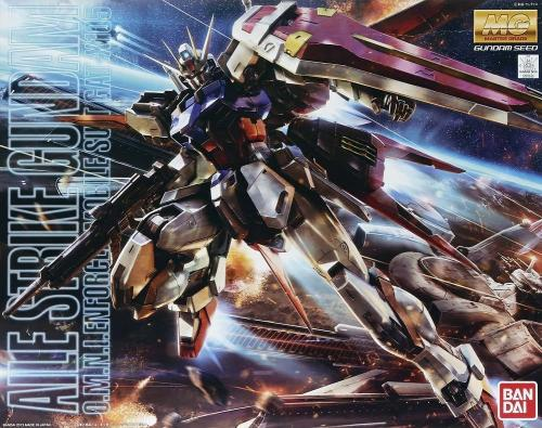 GUNDAM - Model Kit - MG 1/100 - Aile Strike Gundam - 18 CM