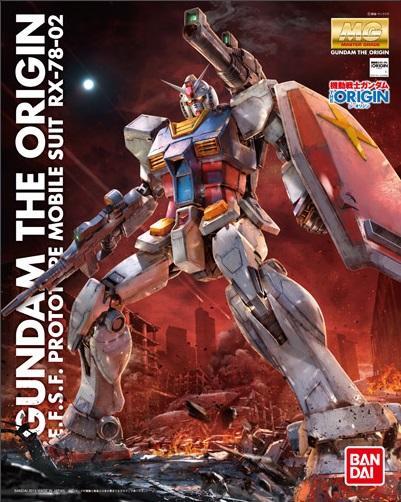 GUNDAM The Origin - Model Kit - MG 1/100 - RX-78-02 Gundam