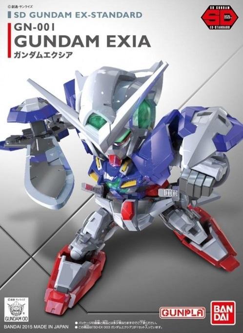 GUNDAM - Model Kit - Super Deformed EX - Exia - 8 CM