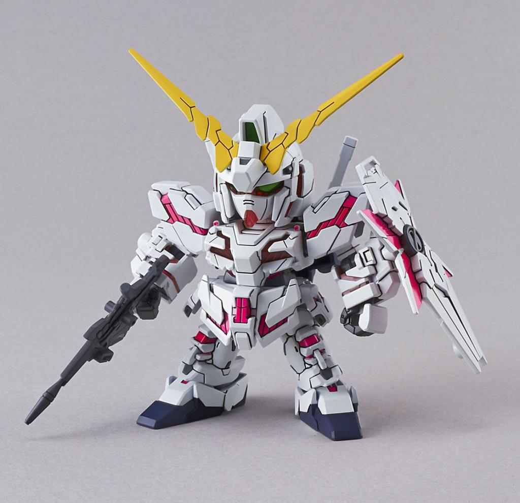 GUNDAM - Model Kit - Super Deformed EX - Unicorn - 8 CM