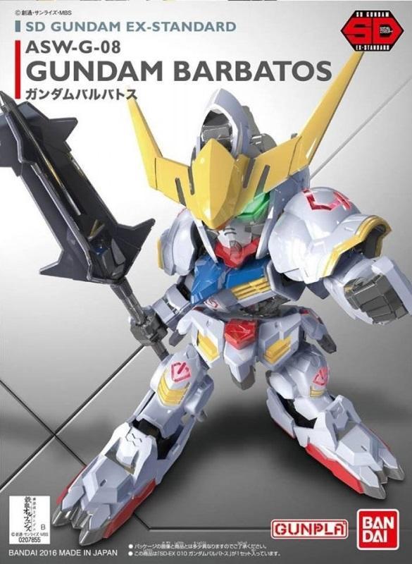 GUNDAM - Model Kit - Super Deformed EX - Barbatos Gundam - 8 CM