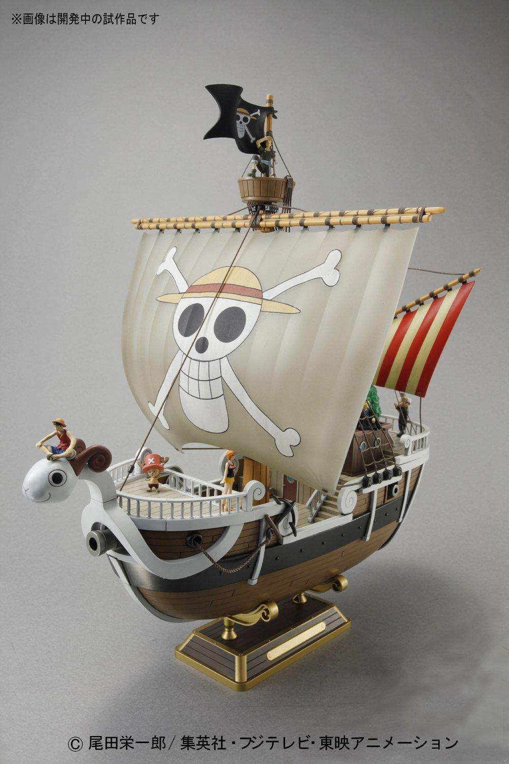 ONE PIECE - Model Kit - Ship - Going Merry - 30 CM_3