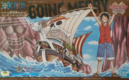 ONE PIECE - Model Kit - Ship - Going Merry - 15 CM