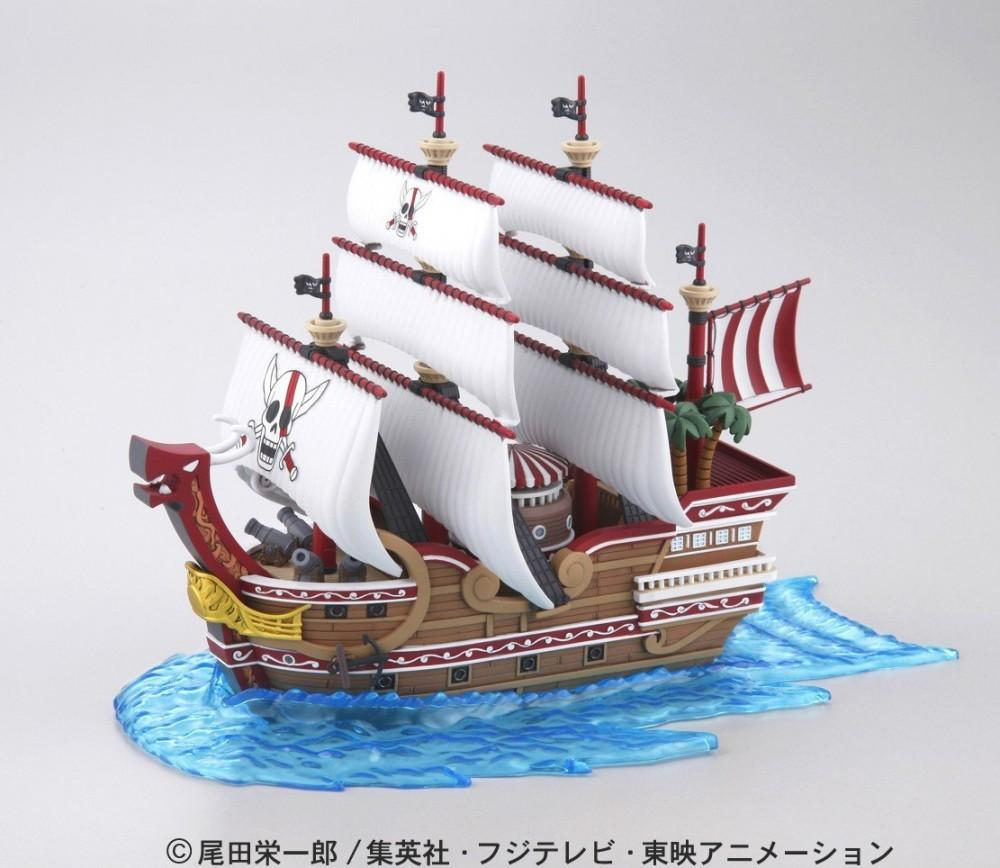 ONE PIECE - Model Kit - Ship - Red Force - 15 CM_1