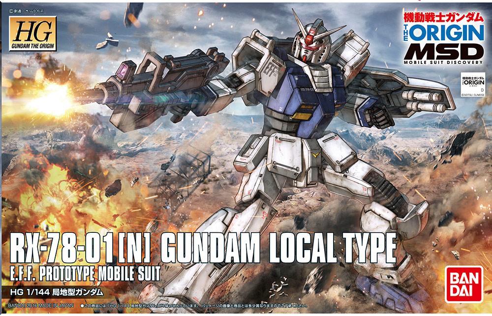 GUNDAM The Origin - Model Kit - HG 1/144 - Gundam Local Type
