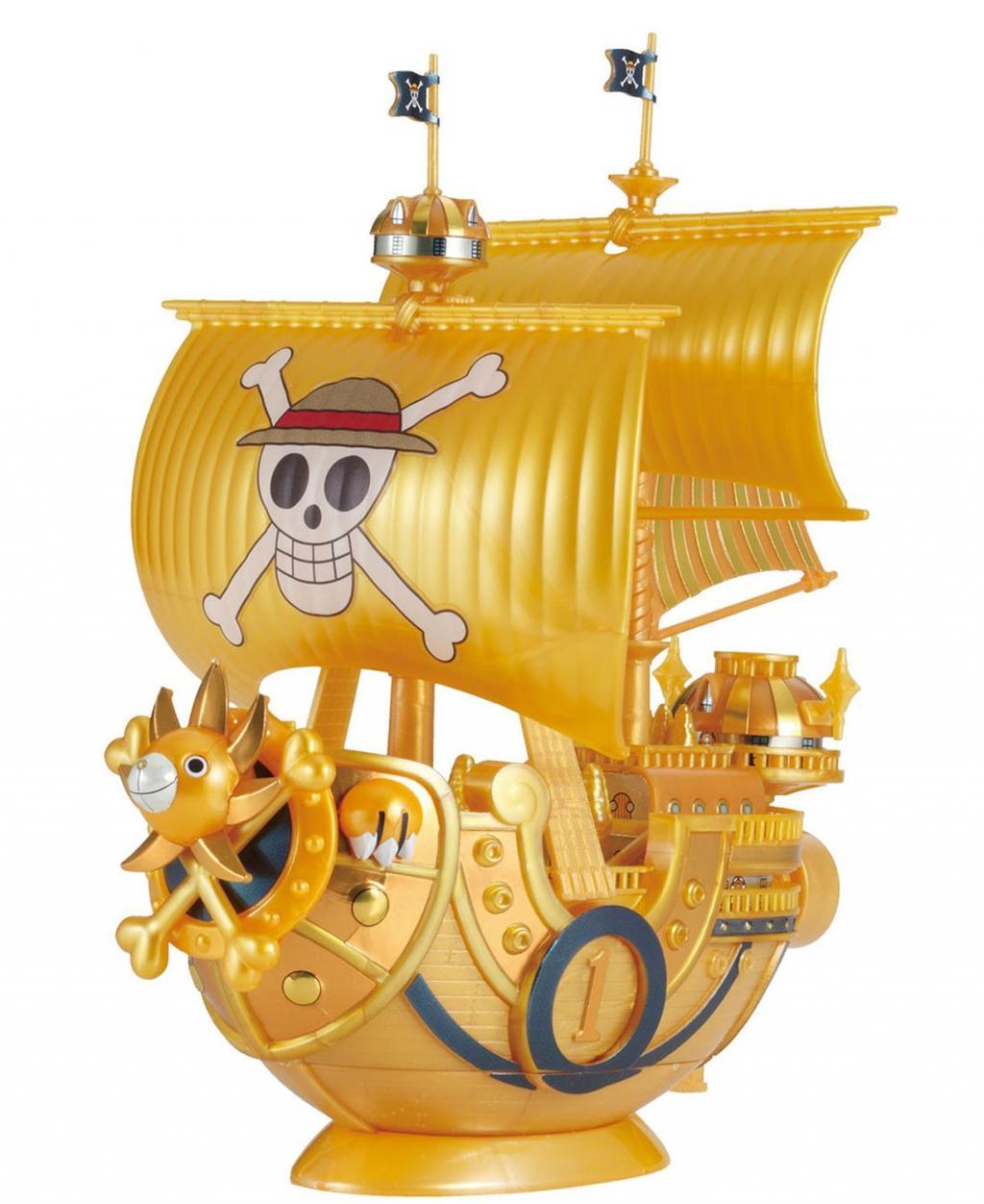 ONE PIECE - Model Kit - Ship - Thousand Sunny Gold - 15 CM