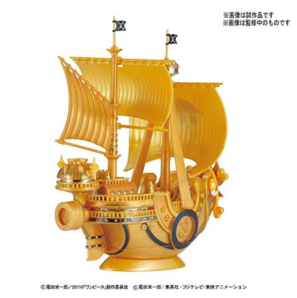 ONE PIECE - Model Kit - Ship - Thousand Sunny Gold - 15 CM_2