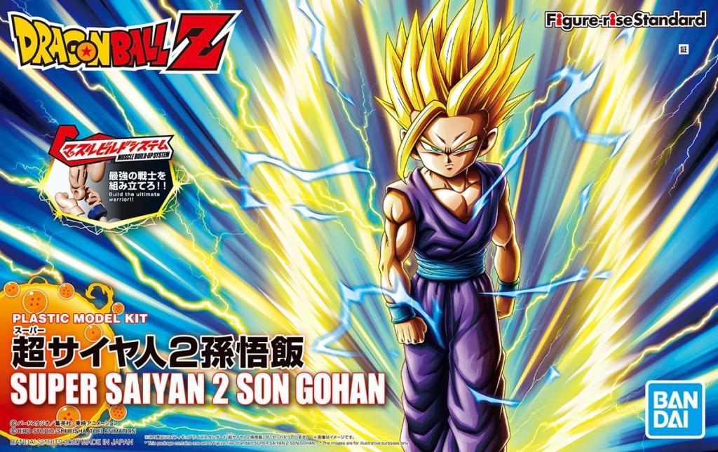 DRAGON BALL - Model Kit - Super Sayan 2 Son Gohan