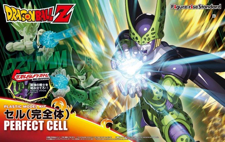 DRAGON BALL - Model Kit - Perfect Cell_1