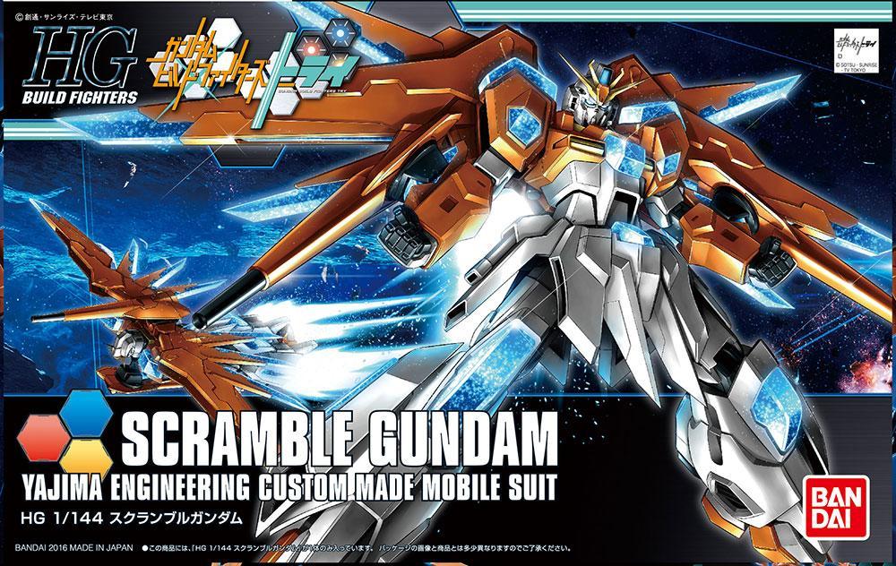 GUNDAM Build Fighters - Model Kit - HG 1/144 - Scramble Gundam