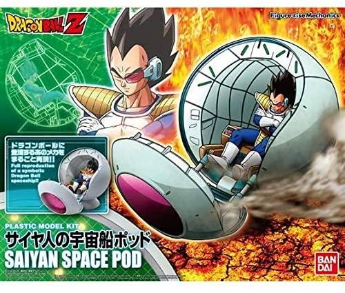 DRAGON BALL - Model Kit - Mechanics Sayan Space Pod_1