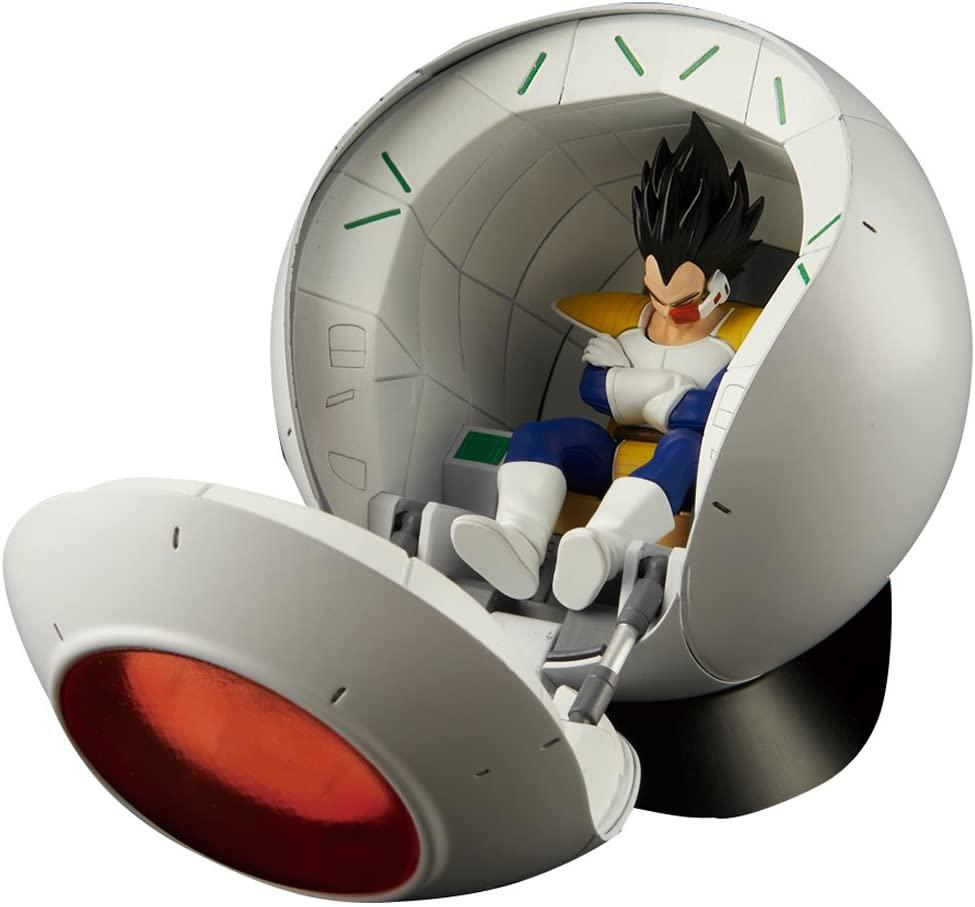 DRAGON BALL - Model Kit - Mechanics Sayan Space Pod_2