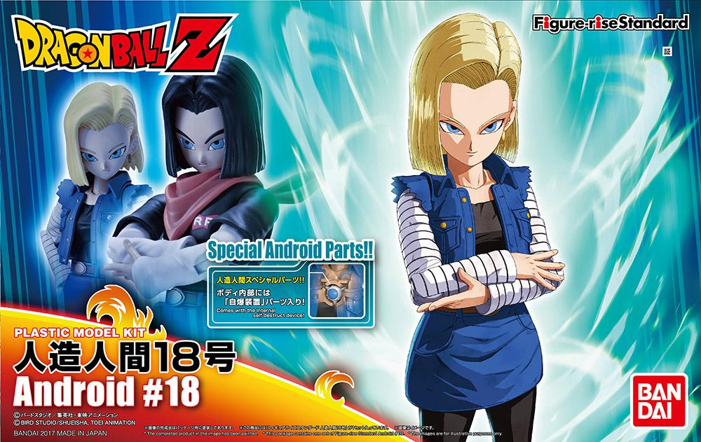 DRAGON BALL - Model Kit - Android 18