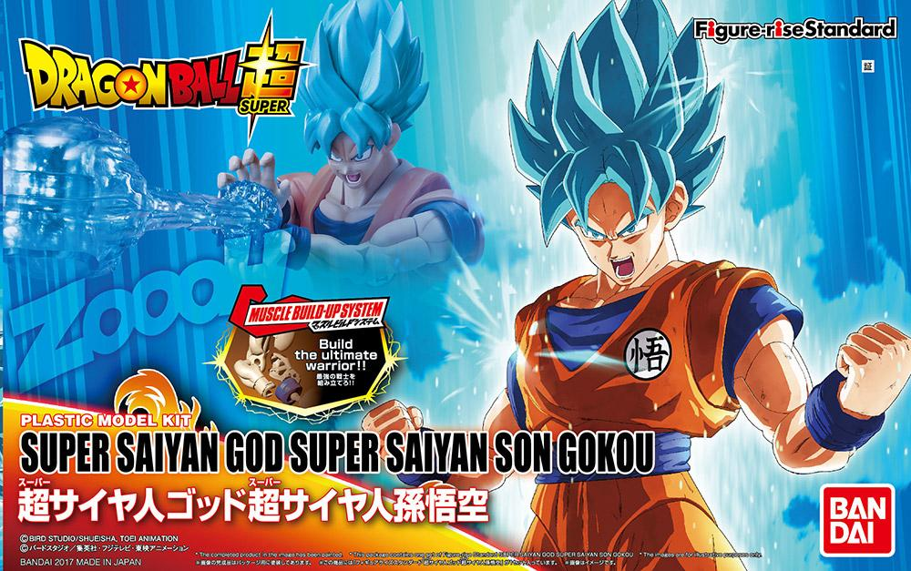 DRAGON BALL - Model Kit - Super Saiyan God Super Saiyan Son Goku_1