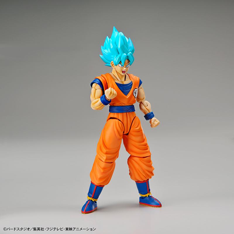 DRAGON BALL - Model Kit - Super Saiyan God Super Saiyan Son Goku_4