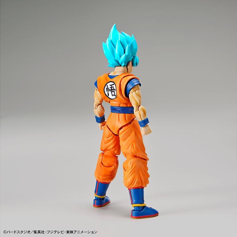 DRAGON BALL - Model Kit - Super Saiyan God Super Saiyan Son Goku_5