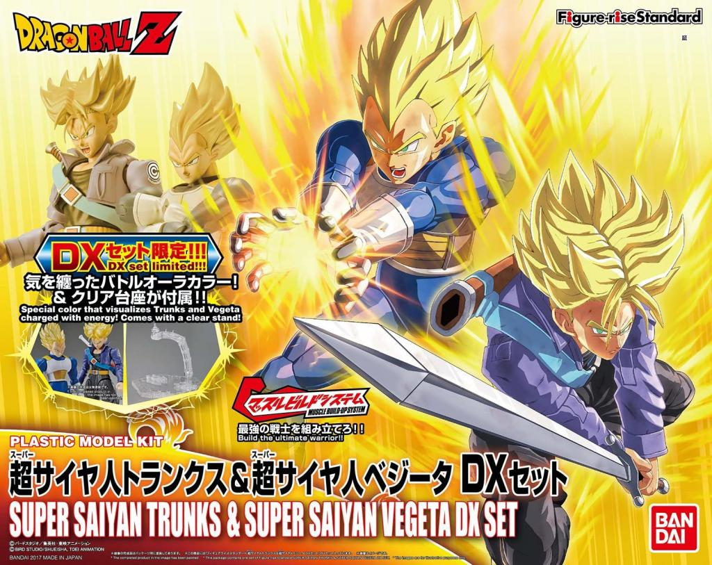 DRAGON BALL - Model Kit - Super Sayan Vegeta & Trunk 'DX SET'_1