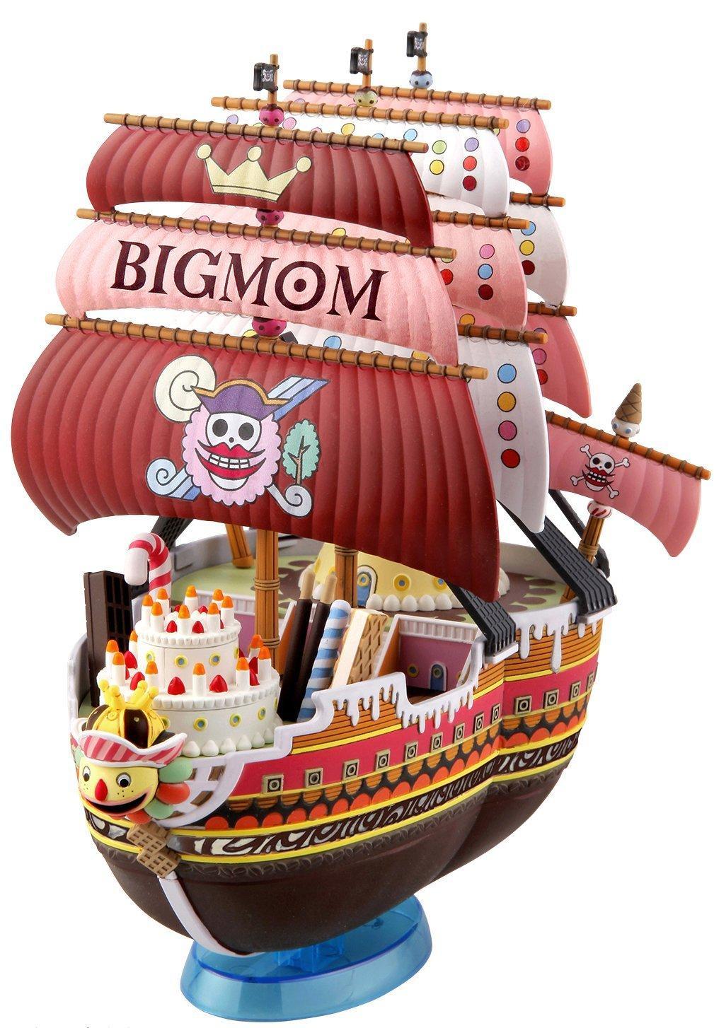 ONE PIECE - Model Kit - Ship - Queen Mama Chanter - 15 CM_1