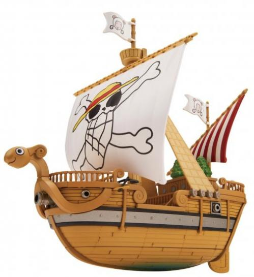 ONE PIECE - Model Kit - Ship - Going Merry Memorial Color Vers - 15 CM