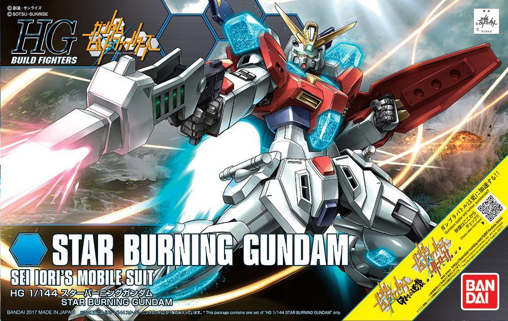 GUNDAM Build Fighters - Model Kit - HG 1/144 - Star Burning Gundam