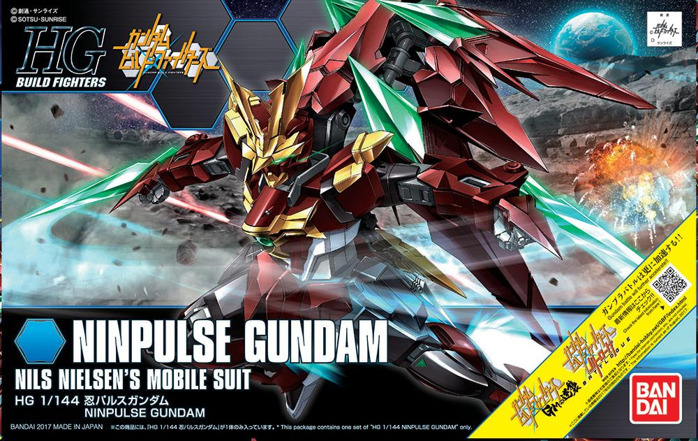 GUNDAM Build Fighters - Model Kit - HG 1/144 - Ninpulse Gundam