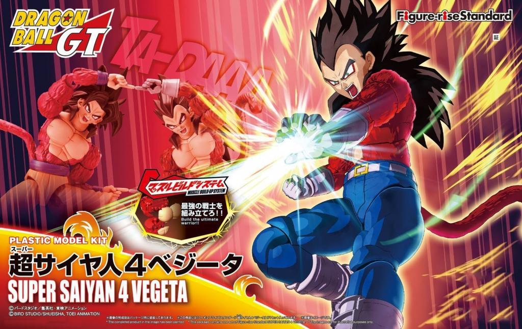 DRAGON BALL - Model Kit - Super Sayan 4 Vegeta_1