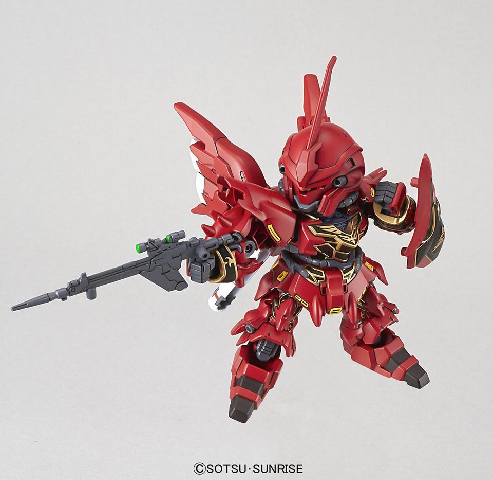 GUNDAM - Model Kit - Super Deformed EX - Sinanju - 8 CM