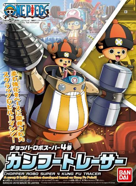 ONE PIECE - Model Kit - Chopper Robo Super 4 Kung Fu Tracer - 10 CM