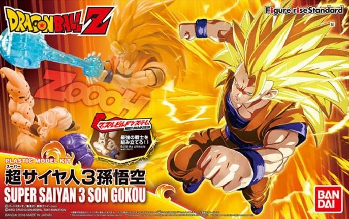 DRAGON BALL - Model Kit - Super Sayan 3 Son Goku_1